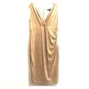 NWT Jessica Gold Dress